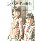 National Geographic School Bulletin March 1971 Manitoba Journey