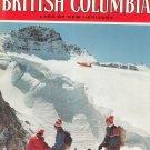 Beautiful British Columbia Land Of New Horizons Travel Guide Vintage Winter 1973