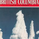 Beautiful British Columbia Land Of New Horizons Travel Guide Vintage Winter 1974