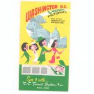 Vintage Washington D.C. & Vicinity Pictorial Travel Guide by D.C. Transit System Inc.