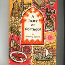 A Taste Of Portugal Cookbook by Shirley Sarvis Vintage Hard Cover 1967
