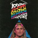 Joseph And The Amazing Technicolor Dreamcoat Souvenir Program With Insert