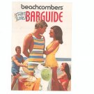 Beachcombers Happy Hour Barguide by Southern Comfort Vintage