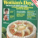 Woman's Day Magazine September 1981 With Jim Beard's Best Budget Recipes Cook Booklet