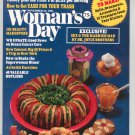 Woman's Day Magazine November 1981 With Gifts From Your Kitchen Recipes Cook Booklet