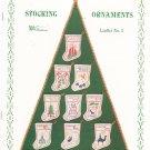 Stocking Ornaments Leaflet Number 2 Faye Raye Stitcheries