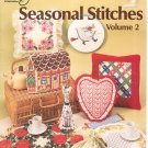 Seasonal Stitches Volume 2 American School Of Needlework Booklet S-7