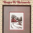 Collection 1 Roger W. Reinardy Leisure Arts 248 1983 Charted Cross Stitch From Crewel & Needlepoint