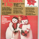 Woman's Day Magazine December 1978 With Iron On Holiday Transfers