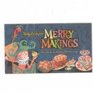 Betty Crockers Merry Makings Cookbook Vintage Item