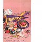 Vintage Raisinland Here's To Happy Snack Times Cookbook Plus