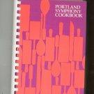 Portland Symphony Cookbook Regional Maine Women's Committee 0960126619