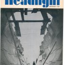 New York Central System Headlight Magazine November 1967 Railroad Train