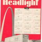 New York Central System Headlight Magazine January 1968 Railroad Train