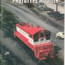 Prototype Modeler Magazine December 1979 Railroad Train