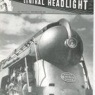 Central Headlight Magazine First Quarter 1988 Railroad Train