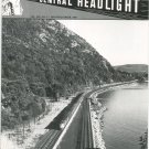 Central Headlight Magazine Second Quarter 1989 Railroad Train