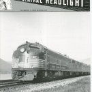 Central Headlight Magazine First Quarter 1992 Railroad Train