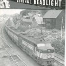 Central Headlight Magazine Fourth Quarter 1986 Railroad Train