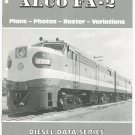 ALCO FA-2 Diesel Data Series Book 2 Plans Photos Roster Variations