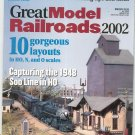 Great Model Railroads 2002 Model Railroader Special Issue Not PDF