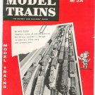 Model Trains Magazine Fall 1960 Vintage Not PDF