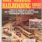 1001 Model Railroading Ideas For 1969 Trains Vintage Not PDF