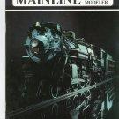 Mainline Modeler Magazine March 1989 Train Railroad  Not PDF Back Issue