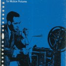 Basic Magnetic Sound Recording For Motion Pictures Kodak Data Book S-27  Vintage