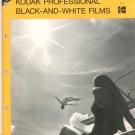 Kodak Professional Black And White Films F-5  Vintage