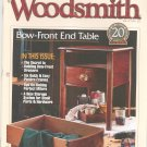 Woodsmith Magazine Back Issue Volume 21 Number 121 Bow Front Drawers Plus February 1999