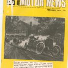 Antique Motor News Magazine February 1977 Vintage Back Issue