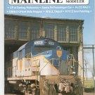 Mainline Modeler Magazine March 1987 Train Railroad  Not PDF Back Issue