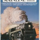 Mainline Modeler Magazine August 1987 Train Railroad  Not PDF Back Issue