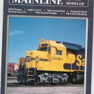 Mainline Modeler Magazine April 1990 Train Railroad  Not PDF Back Issue