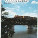Mainline Modeler Magazine June 1990 Train Railroad  Not PDF Back Issue