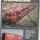 Mainline Modeler Magazine August 1990 Train Railroad  Not PDF Back Issue