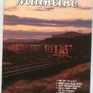 Mainline Modeler Magazine September 1990 Train Railroad  Not PDF Back Issue