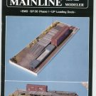 Mainline Modeler Magazine June 1989 Train Railroad  Not PDF Back Issue
