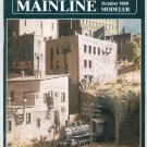 Mainline Modeler Magazine October 1989 Train Railroad  Not PDF Back Issue