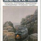 Mainline Modeler Magazine June 1987 Train Railroad  Not PDF Back Issue