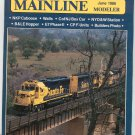 Mainline Modeler Magazine June 1986 Train Railroad  Not PDF Back Issue