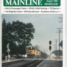 Mainline Modeler Magazine August 1985 Train Railroad  Not PDF Back Issue