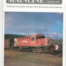 Mainline Modeler Magazine February 1984 Train Railroad  Not PDF Back Issue