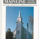 Mainline Modeler Magazine March 1984 Train Railroad  Not PDF Back Issue