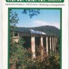 Mainline Modeler Magazine July 1984 Train Railroad  Not PDF Back Issue