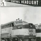 Central Headlight Magazine Second Quarter 1995 Railroad Train