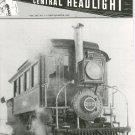 Central Headlight Magazine First Quarter 1995 Railroad Train