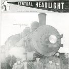 Central Headlight Magazine First Quarter 1997 Railroad Train