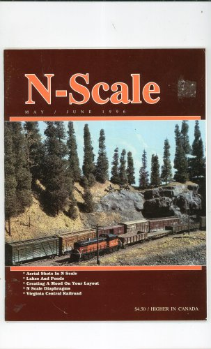 N scale magazine back issues